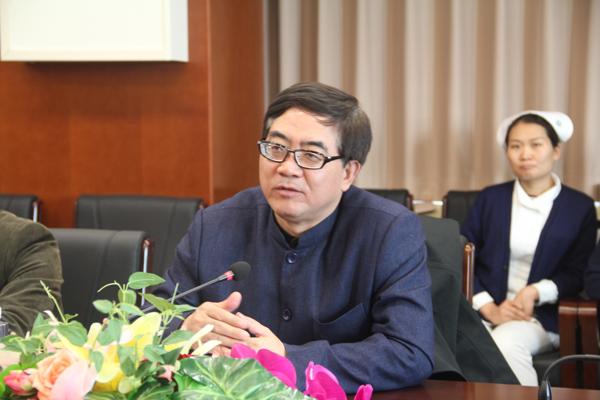 中国科学院院士葛均波考察我院并签署院士专家工作站建立协议